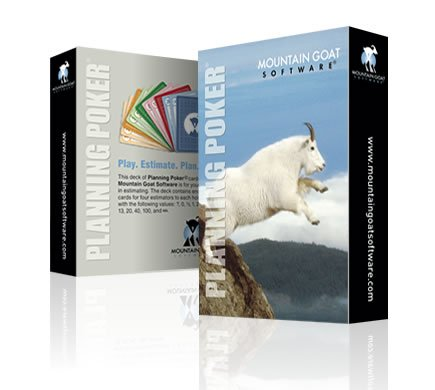 1 X Agile Planning Poker Cards by Mountain Goat Software