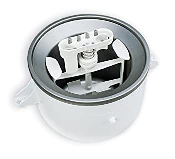 Kitchenaid Kica0wh Ice Cream Maker Attachment - Excludes 7, 8, & Most 6 Quart Models 0
