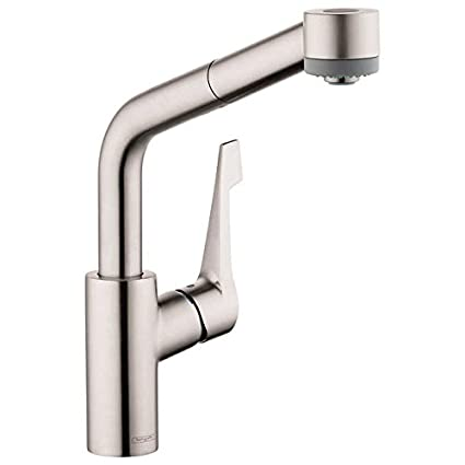 Hansgrohe Cento Semi Arc Kitchen Faucet Steel Optik Amazon Com