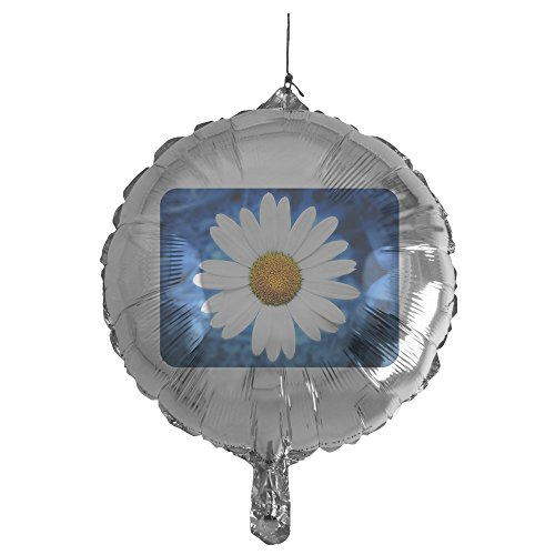 Gerbera Balloons Daisy (Royal Lion Mylar Balloon Daisy Energy Blue)