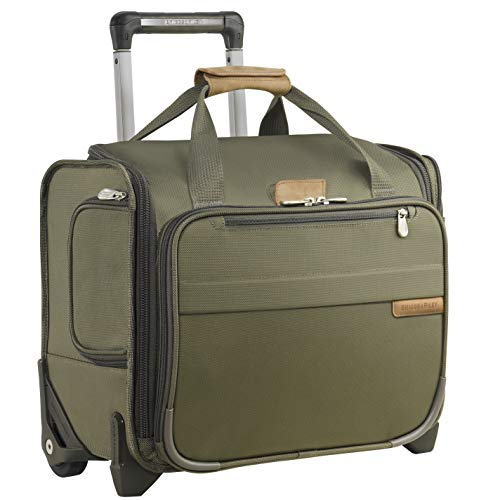 Briggs & Riley Baseline Rolling Cabin Bag, Olive, Small