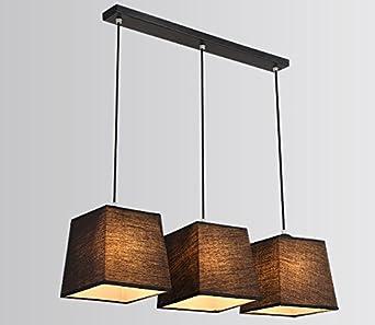 YBFQ LED 3 Creative Y Telas. Lámpara De Techo Luz Blanca De ...