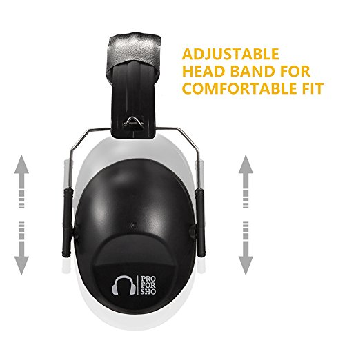 Pro For Sho 34dB Shooting Ear Protection Special Designed Ear Muffs Lighter...
