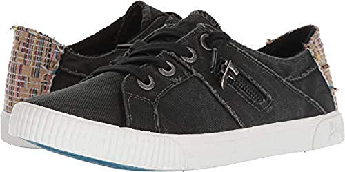 Blowfish New Women's Fruit Sneaker Black Smoked Canvas (8.5) by Blowfish