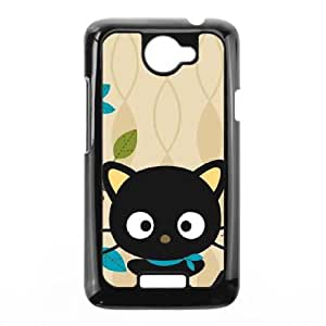 HTC One X Cell Phone Case Black Chococat Autumn Leaves GY9282711