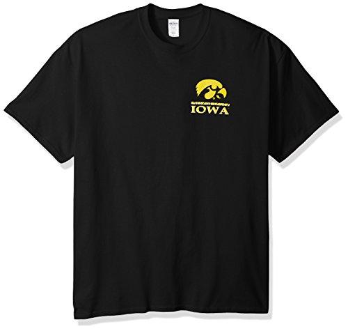 Mosaic Eye (NCAA Iowa Hawkeyes Team Mosaic Short Sleeve Shirt, X-Large, Black)