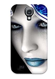 Premium Tpu Blue Mood Cover Skin For Galaxy S4