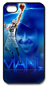 LZHCASE Personalized Protective Case For Ipod Touch 5 CoverManu Ginobili, NBA San Antonio Spurs