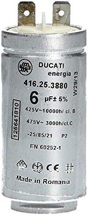 425 V DUCATI Kondensator 2,5 µF Motorkondensator Anlaufkondensator 2,5 uF