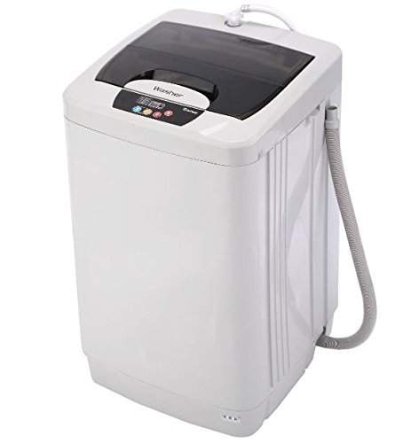 K&A Company Portable Washing Machine Compact Washer Mini Spin Dryer Laundry Tub Apartment Capacity 12.1 lbs