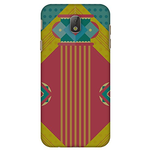 AMZER Slim Fit Handcrafted Designer Printed Hard Shell Case Back Cover Skin for Samsung Galaxy J7 Pro J730F - Let There Be Lamp HD Color, Thin Protective Case - Galaxy Handcrafted Lamp