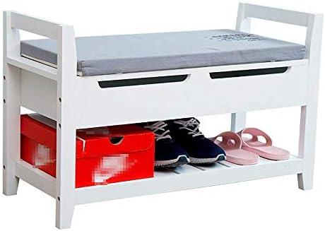 BZM-ZM 靴竹の靴ラック靴主催棚ストレージマルチシェルフ靴箱ラック(カラー:ホワイト、サイズ:80X34X50CMを)