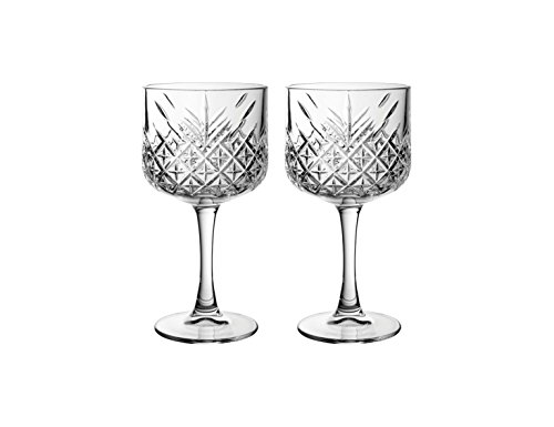 "6 Gin Cocktail Glass ""Timeless"" in Crystal Design Cocktail Glass Special"
