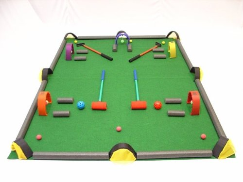 Everrich EVC-0147 Golf / Croquet / Billiards Game Set