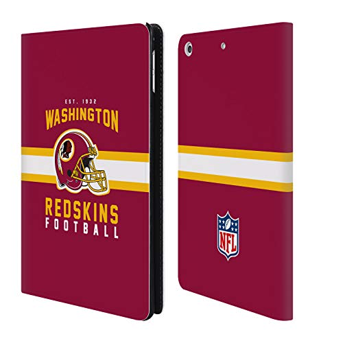 - Official NFL Helmet Typography 2018/19 Washington Redskins Leather Book Wallet Case Cover for iPad Mini 4