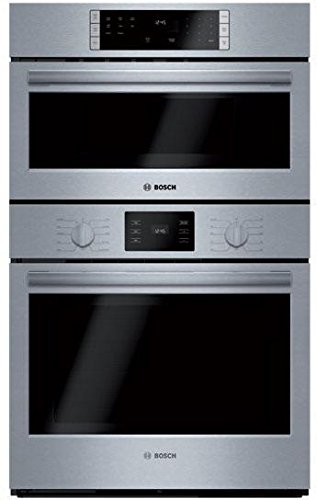HBL57M52UC 500 Series Microwave Combination Oven with 10 Sensor Cooking Programs Defrost Function Bake Variable Broil and Multi Rack Genuine European Convection in Stainless Steel