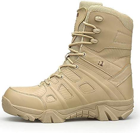Botas Tácticas Hombre Impermeables,Botas Desierto, Zapatos