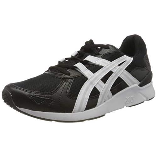 chollos oferta descuentos barato ASICS Gel Lyte Runner 2 Zapatillas para Correr para Hombre Black White 40 5 EU