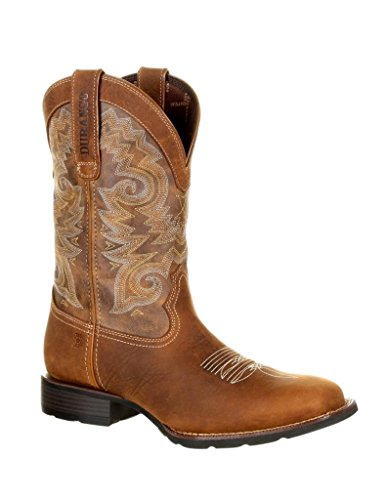 Bottes Western Durango Hommes Mustang Selle Brun Tabac Ddb0138 Selle Marron / Tabac
