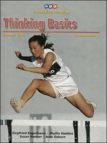 Corrective Reading Comprehension, Level A: Thinking Basics- Teacher's Guide by Siegfried Engelmann (1999-02-05)