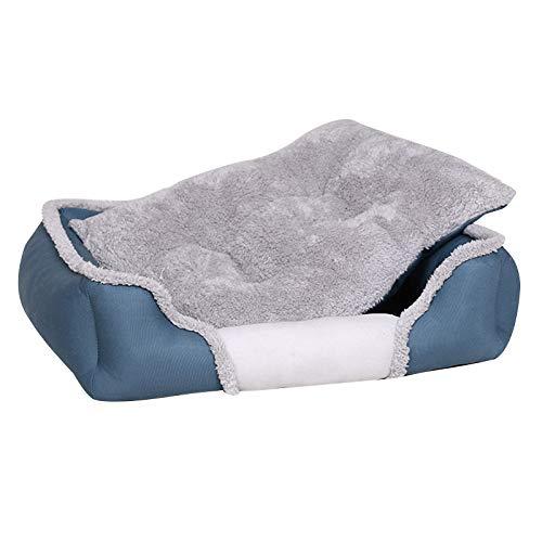 Asdomo Pet Dog Bed Washable Puppy Pet Cat Beds Mats House Kennel Autumn Winter Warm Soft Baskets Nest