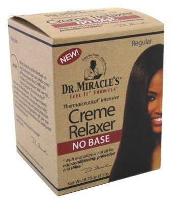 Dr. Miracle's Creme Relaxer No Base, Regular, 18.75 Ounce (Regular Relaxer)