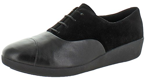Fitflop Kvinna F Pop Duk Oxford All Black