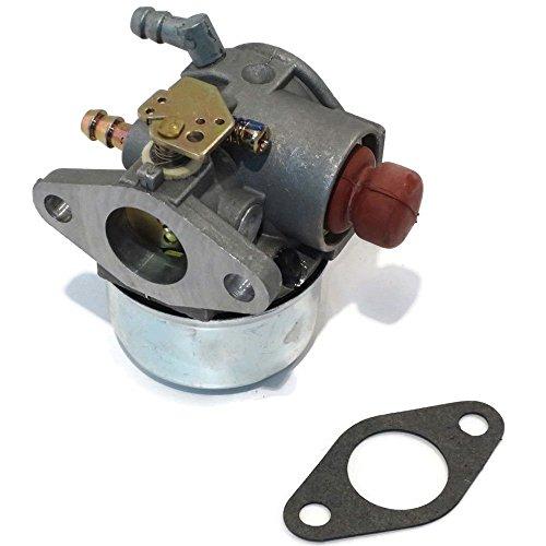 hsn_zem CARBURETOR for Go Cart Kart w/Tecumseh 5, 6, 6.5 HP Horizontal Engine Motor ()