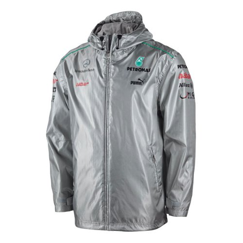 Puma Mercedes Amg Petronas F1 Men S Team Jacket Silver L Import