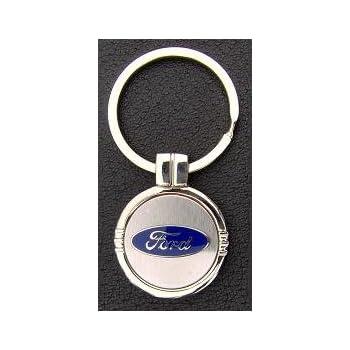 Amazon.com: Ford Oval llavero con grabado gratis: Automotive