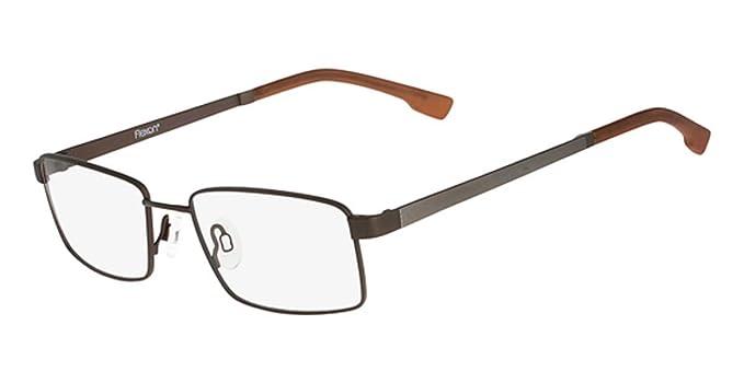 21bd5d03a95 Eyeglasses FLEXON E 1028 210 BROWN at Amazon Men s Clothing store