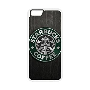 DIY Printed Starbucks hard plastic case skin cover For iPhone 6 Plus,6S 5.5 Inch SNQ273091