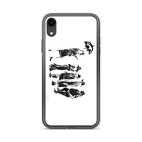 iPhone XR Case Clear Anti-Scratch American Horror Story Cover Phone Cases for iPhone XR, Crystal Clear]()