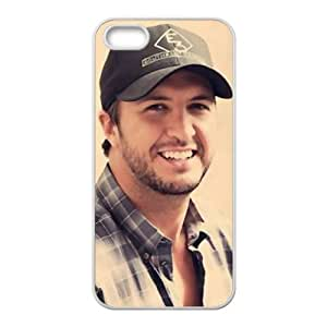Luke Bryan Charming Smile Design Hard Case Cover Protector For Iphone 5S