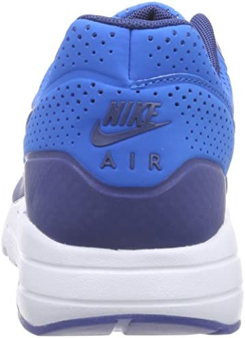 Nike air max 1 Ultra Moire Mens Running Trainers 705297 Sneakers Shoes (US 7.5, Blue White 401)