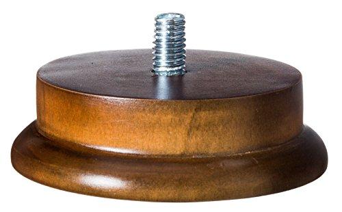 Beer Tap Handle Single Display Stand - Solid Wood (1) (Tap Single Beer Keg)