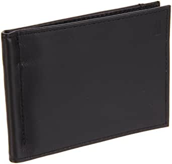 Hartmann Luggage Capital Leather Money Clip Wallet,Black,One Size