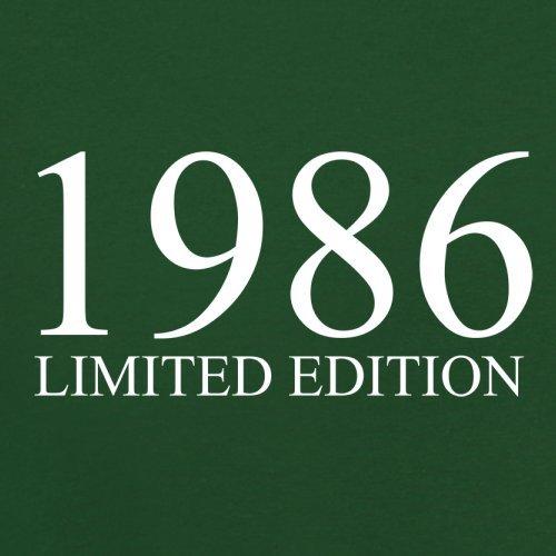 1986 Limierte Auflage / Limited Edition - 31. Geburtstag - Herren T-Shirt - Flaschengrün - XXXL