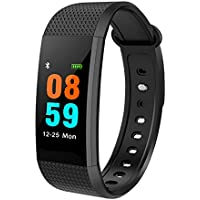Blood Pressure Heart Rate Fitness Bracelet Smart Watch for iPhone Android