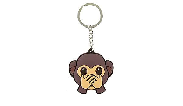 Llavero Emoji monito Boca: Amazon.es: Electrónica