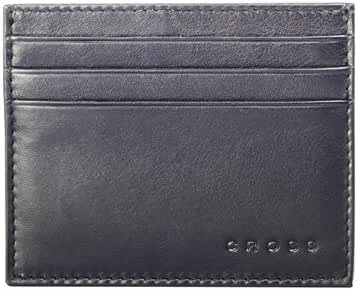 Cross Men's Genuine Leather Credit Card Case Wallet, Black