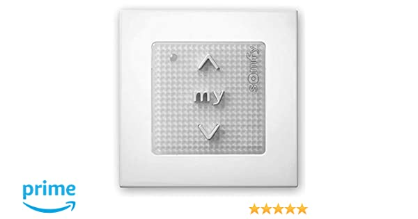 Somfy RTS 1841027 Wall-Mounted Remote Control