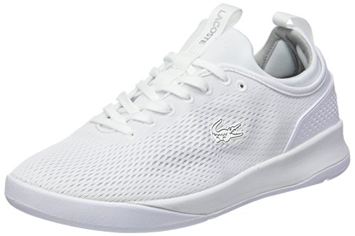 108 0 Spm Lt Lacoste Uomo wht Sneaker Spirit slv 318 2 Bianco 2 7BtwAwfx