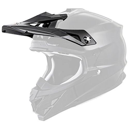 Scorpion Peak Visor Vx-35 Motorcycle Helmet Accessories - Matte Black/One Size by Scorpion (Image #1)