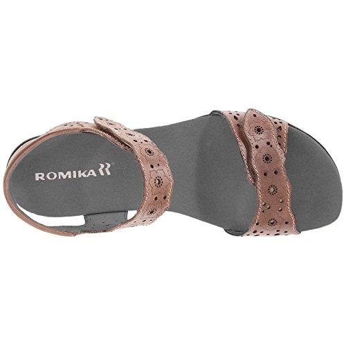 Romika Tahiti 03 Damen Slingback Sandalen Braun (bark 358)