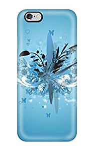 Durable Funky Blue Design Back Case/cover For Iphone 6 Plus