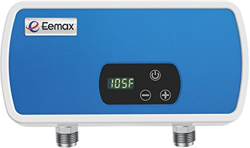Eemax EEM12004 4kW Electric Tankless Point of Use Water Heater, Blue