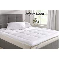 Jaipur Linen Quilted Mattress Topper