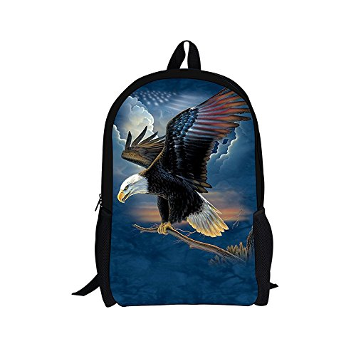 HUGS IDEA Cool 3D Zoo Backpack Travel Bag Pack Eagle for sale  Delivered anywhere in USA