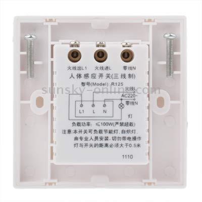 Ruluri Interruptor del sistema del sensor de movimiento muro ...